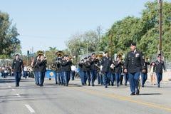 Militarna orkiestra marsszowa zdjęcie stock