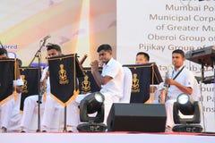 Militarna orkiestra marsszowa Fotografia Stock