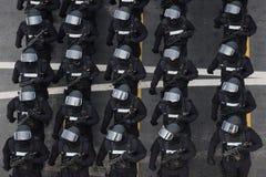 Militarna parada świętuje Rumunia święto państwowe zdjęcie stock