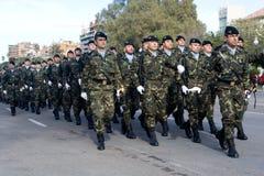 militarna parada Fotografia Royalty Free