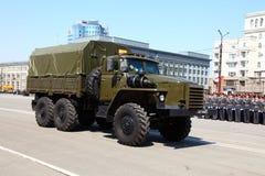 militarna parada Obraz Stock