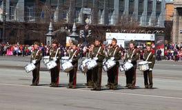 militarna parada Obrazy Stock