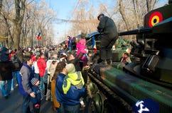 Militarna parada Obraz Royalty Free