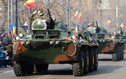 Militarna parada Obrazy Royalty Free