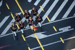 Militarna parada Zdjęcie Royalty Free