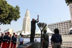 Militarna parada dzień niepodległości w Rio, Brazylia Fotografia Stock