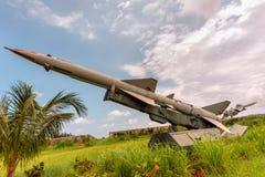 Militarne bronie przeciwlotnicze, balistyczny, pasmo pocisk zdjęcia stock