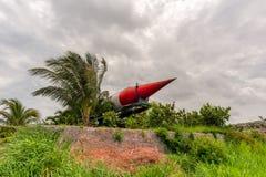Militarne bronie przeciwlotnicze, balistyczny, pasmo pocisk zdjęcie royalty free