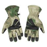 Militarne rękawiczki, taktyczne rękawiczki, ochronne rękawiczki Fotografia Royalty Free