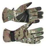 Militarne rękawiczki, taktyczne rękawiczki, ochronne rękawiczki Obraz Royalty Free