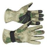 Militarne rękawiczki, taktyczne rękawiczki, ochronne rękawiczki Zdjęcie Royalty Free