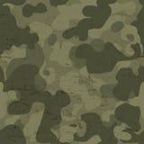 Militarnego kamuflażu bezszwowy wzór wektor Obraz Stock