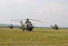 Militarni helikoptery Obrazy Stock