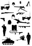 Militarni uzbrojenia Zdjęcie Royalty Free