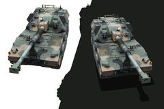 Militarni zbiorniki Obrazy Royalty Free