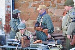 militarny biuro Zdjęcia Royalty Free