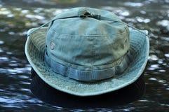 Militarny Boonie kapelusz Obrazy Stock