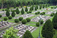 Militarny cmentarz w Dien Bien Phu Fotografia Stock