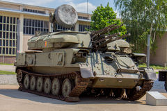 Militarny Cysternowy Niemcy - przeciwlotniczy pojazd (Eas Zdjęcie Royalty Free