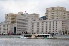 Militarny Defence ministerstwo w Moskwa Zdjęcie Stock