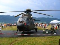 Militarny helikopter Zdjęcia Royalty Free