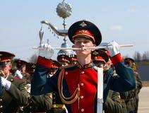 Militarny instrumentalista w kategoriach Zdjęcie Royalty Free