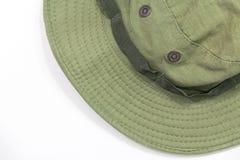 Militarny kapelusz Fotografia Stock