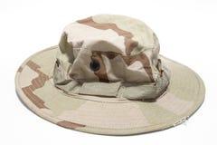 militarny kapelusz Zdjęcia Royalty Free