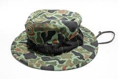 militarny kapelusz Obraz Royalty Free