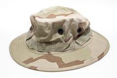 militarny kapelusz Zdjęcie Royalty Free
