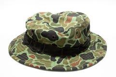 militarny kapelusz Obrazy Stock