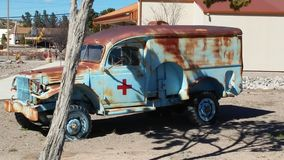 Militarny Medyczny pojazd Fotografia Royalty Free
