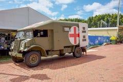Militarny Medyczny pojazd Zdjęcia Stock