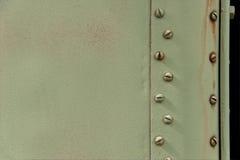 Militarny metalu talerz część militarny samochód zdjęcia royalty free