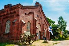 Militarny muzeum Manege budynek Na fortecy Obraz Stock