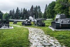 Militarny muzeum w Svidnik, Sistani Zdjęcia Royalty Free