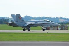Militarny myśliwiec Zdjęcia Stock