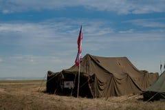 militarny obóz Obraz Stock