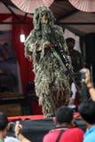 Militarny pokaz mody Fotografia Royalty Free