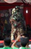 Militarny pokaz mody Zdjęcia Stock