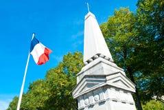 Militarny pomnik w Paryż Obrazy Royalty Free