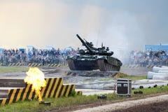 Militarny przedstawienie Obraz Royalty Free