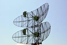 Militarny radar Zdjęcie Royalty Free