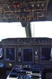 Militarny rzemiosło kokpit fotografia stock