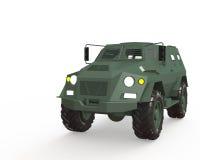 Militarny samochód Zdjęcia Royalty Free