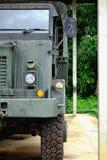 Militarny samochód Zdjęcia Stock