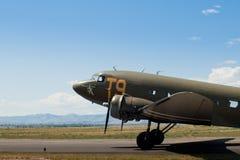 Militarny samolot Fotografia Royalty Free