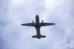 Militarny samolot Zdjęcia Stock