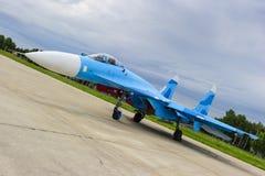 Militarny samolot szturmowy zdjęcie stock