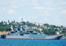 militarny statek obraz royalty free